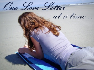 one love letter at a time