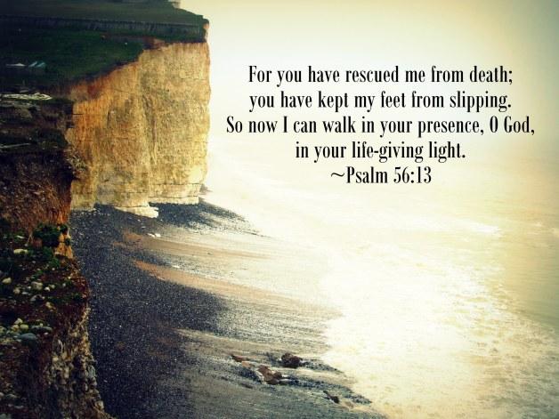 psalm 56.13